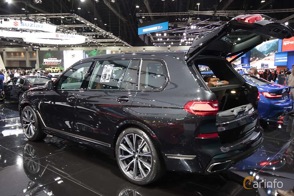 Back/Side of BMW X7 M50d  Steptronic, 400ps, 2019 at Bangkok Motor Show 2019