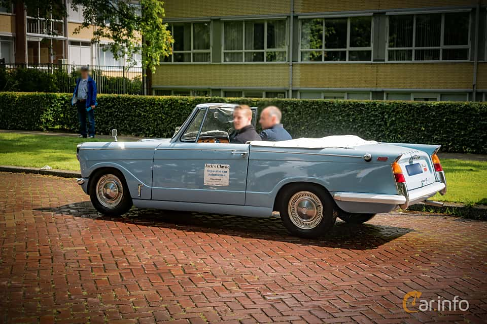 Extrêmement Triumph Herald 1200 Convertible Manual, 4-speed UM29