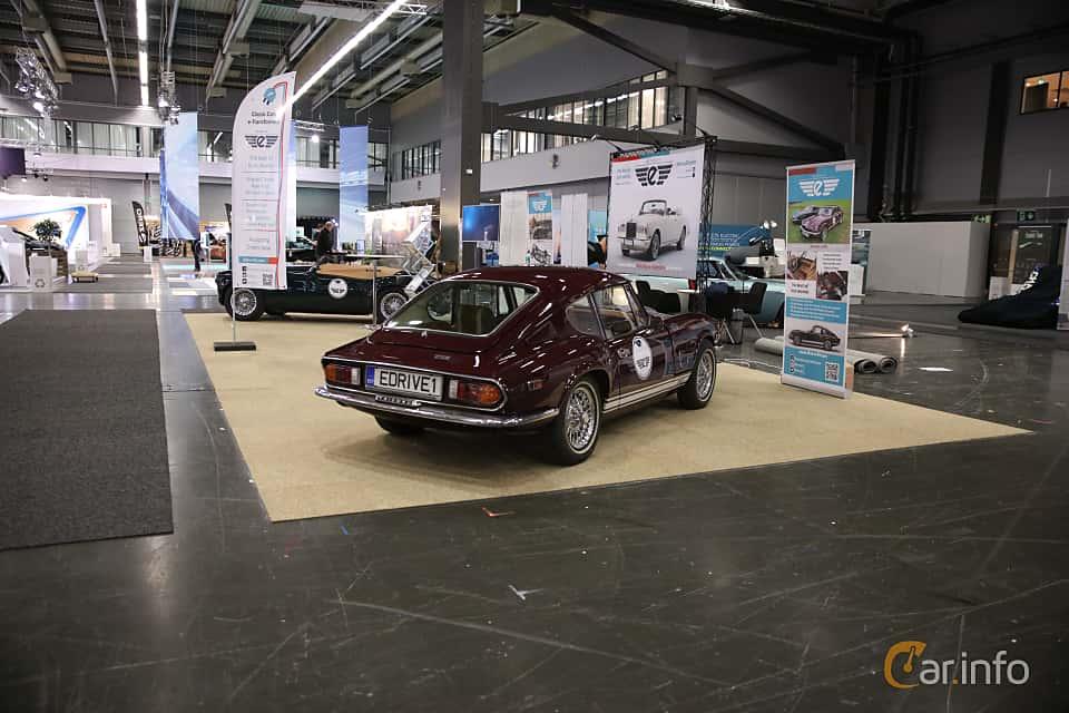 Back/Side of Triumph GT6 2.0 Manual, 106ps, 1972 at eCar Expo Göteborg 2018