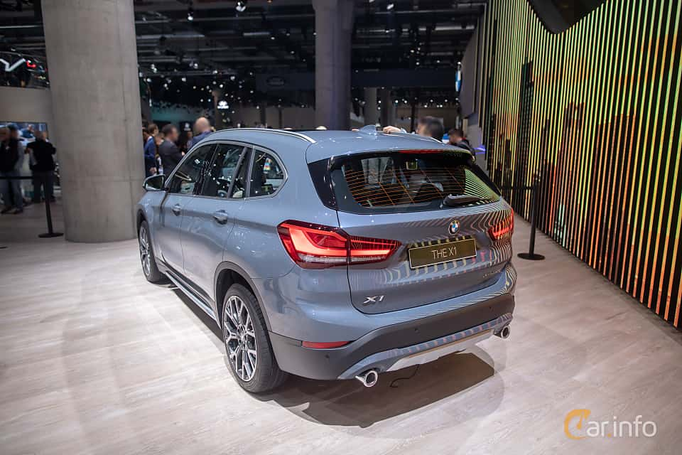 Back/Side of BMW X1 xDrive20d  Steptronic, 190ps, 2020 at IAA 2019