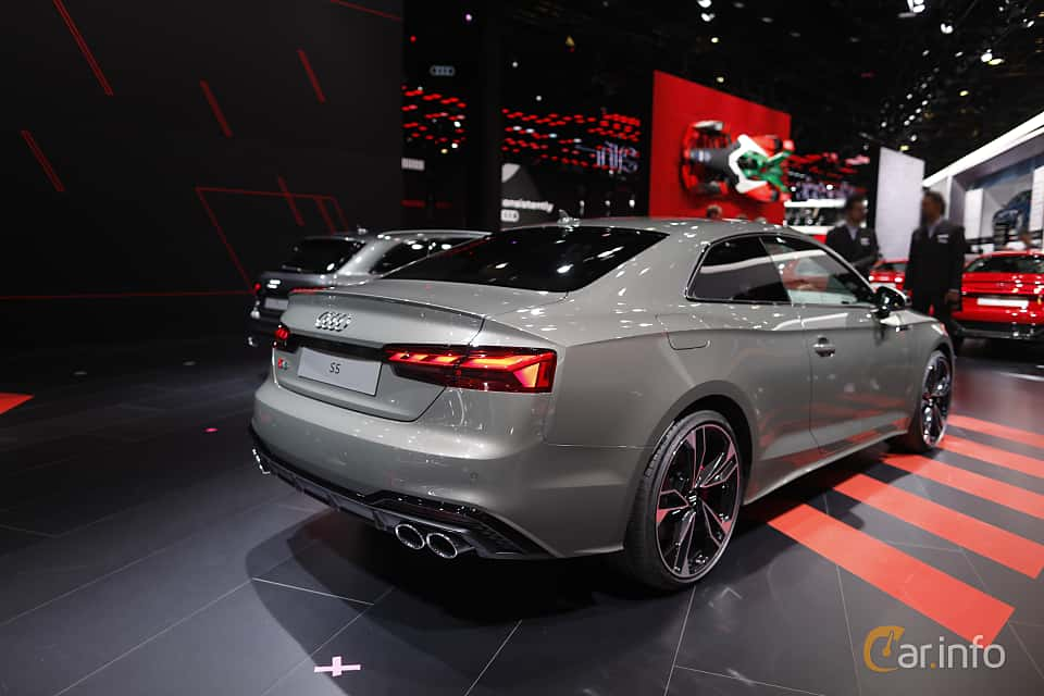 Back/Side of Audi S5 TDI Coupé 3.0 TDI quattro TipTronic, 347ps, 2020 at IAA 2019