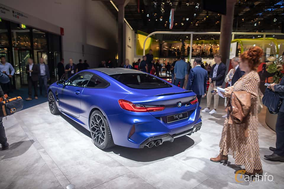 Back/Side of BMW M8 Competition Coupe  Steptronic, 625ps, 2020 at IAA 2019