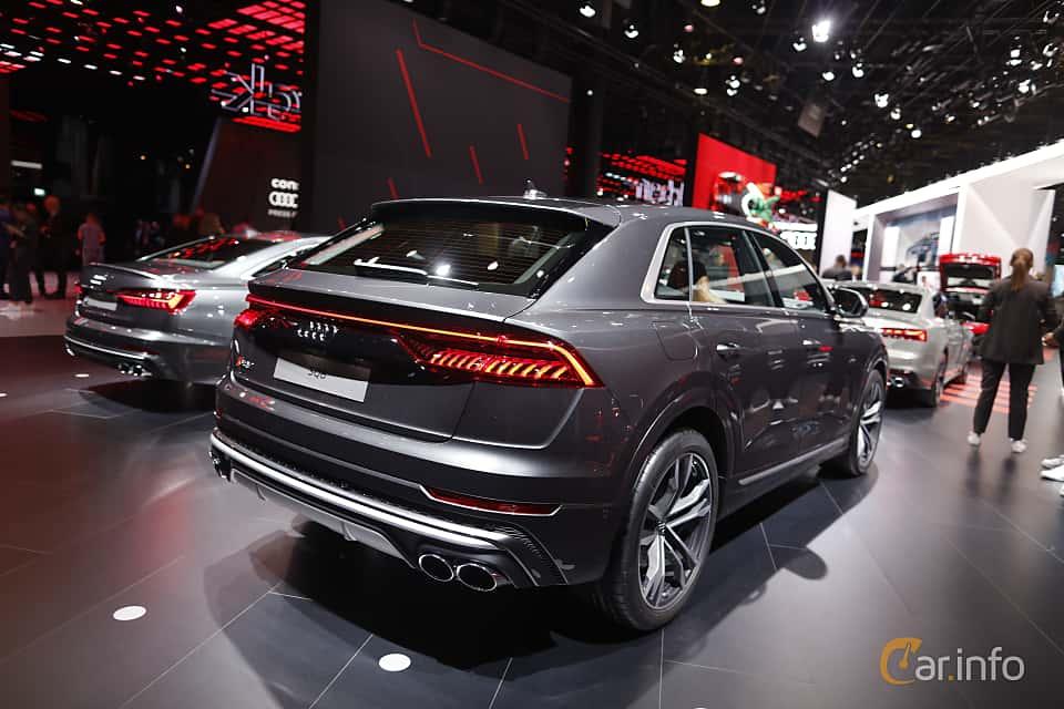 Back/Side of Audi SQ8 TDI  TipTronic, 435ps, 2020 at IAA 2019