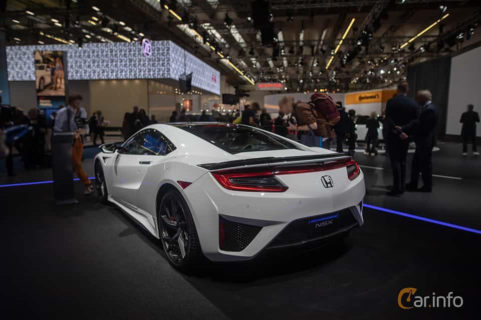 Back/Side of Honda NSX 3.5 V6 SH-AWD DCT, 581ps, 2020 at IAA 2019