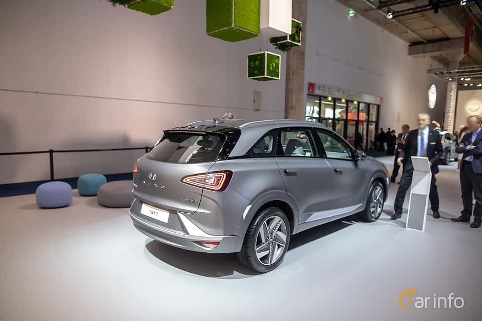 Back/Side of Hyundai Nexo FuelCell Single Speed, 163ps, 2020 at IAA 2019