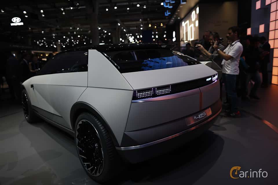 Back/Side of Hyundai 45 EV Concept Concept, 2020 at IAA 2019