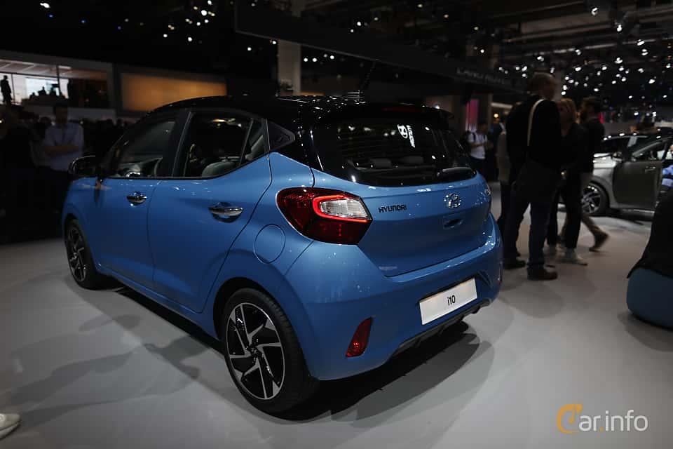 Back/Side of Hyundai i10 1.2 AMT, 84ps, 2020 at IAA 2019