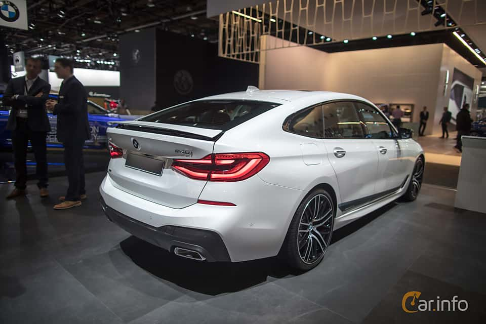 Back Side Of BMW 640i Gran Turismo XDrive 30 Steptronic 340ps 2018
