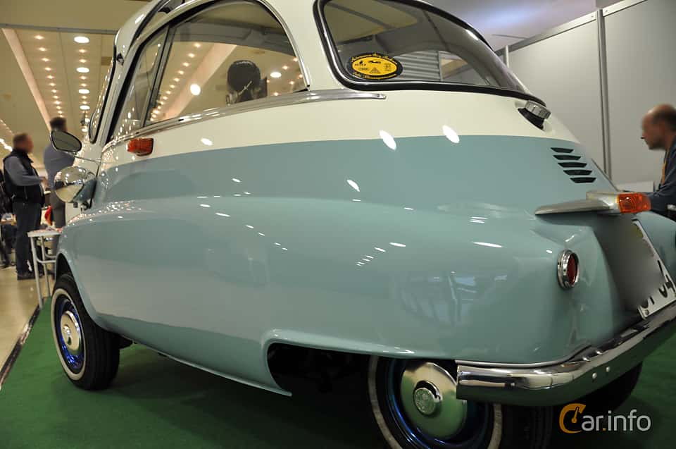 Back/Side of BMW Isetta 250  Manual, 12ps, 1955 at Techno Classica Essen 2019