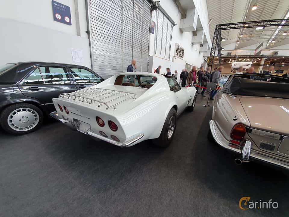 Back/Side of Chevrolet Corvette Stingray 1972 at Techno Classica Essen 2019