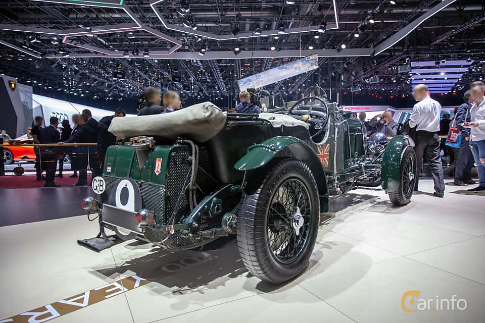 Back/Side of Bentley 4.5 Litre Cabriolet 4.4 Manual, 110ps, 1930 at Geneva Motor Show 2019