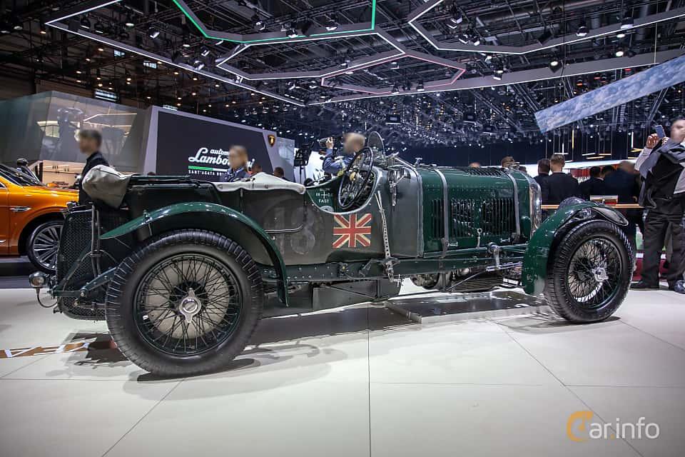 Back/Side of Bentley 4.5 Litre Cabriolet 4.4 Manual, 110ps, 1930 at Geneva Motor Show 2019