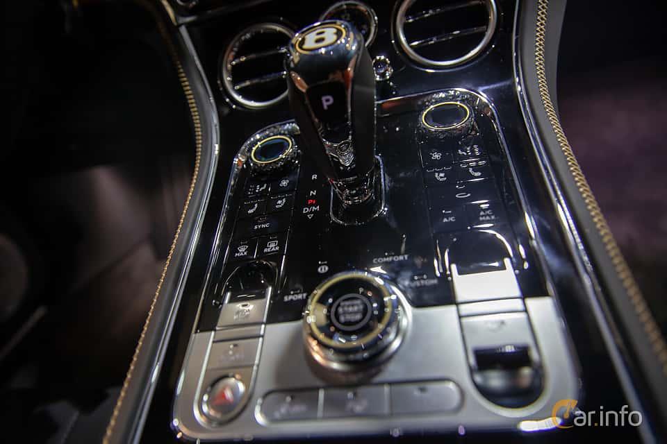 Interior of Bentley Continental GT 6.0 W12 TSI DCT, 635ps, 2019 at Geneva Motor Show 2019