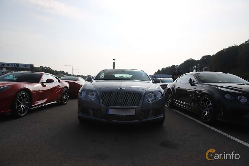 Front  of Bentley Continental GT Convertible 6.0 W12 Automatic, 575ps, 2012 at Autoropa Racing day Knutstorp 2019