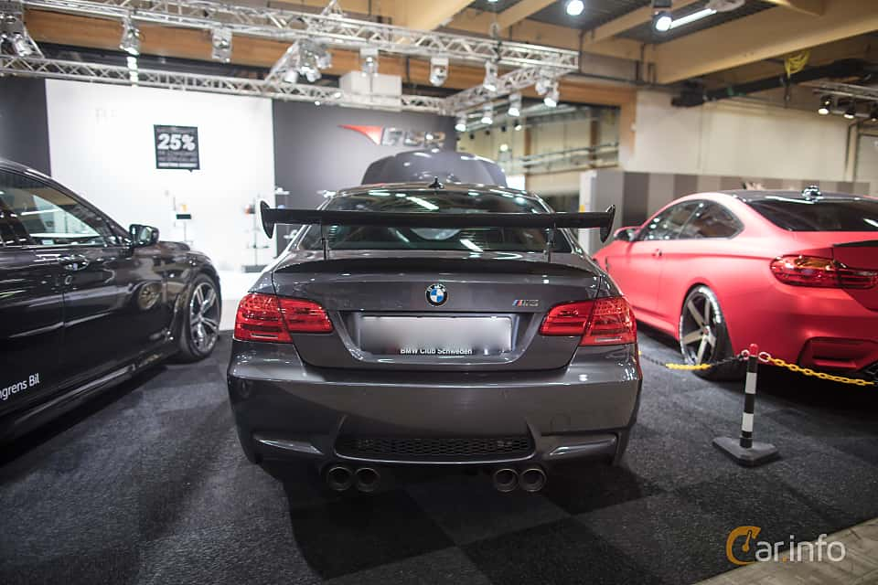 Back Of BMW 3 Series Coupe 2011 At Bilsport Performance Custom Motor Show 2017