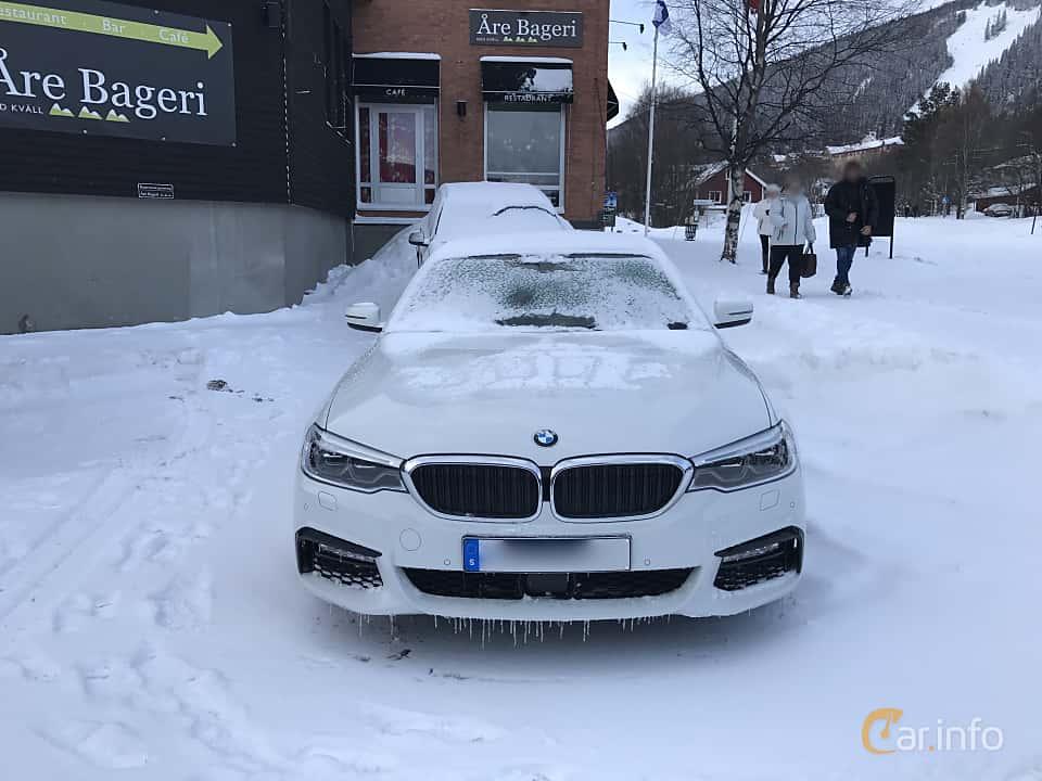 Fram av BMW 540i xDrive Sedan 3.0 xDrive Steptronic, 340ps, 2017