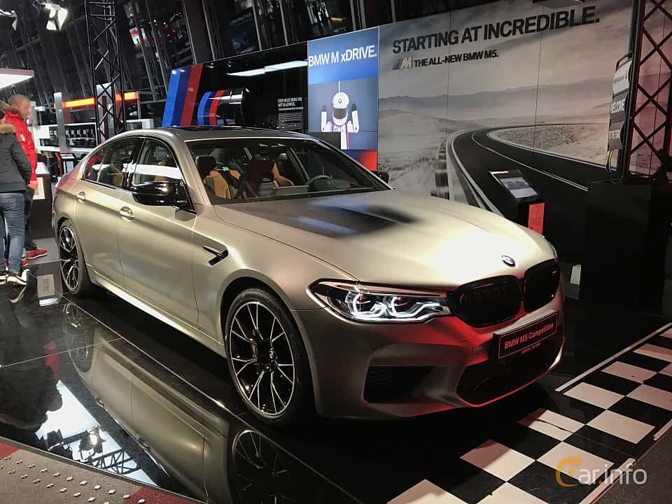 Front/Side  of BMW M5 Competition  Steptronic, 625ps, 2019