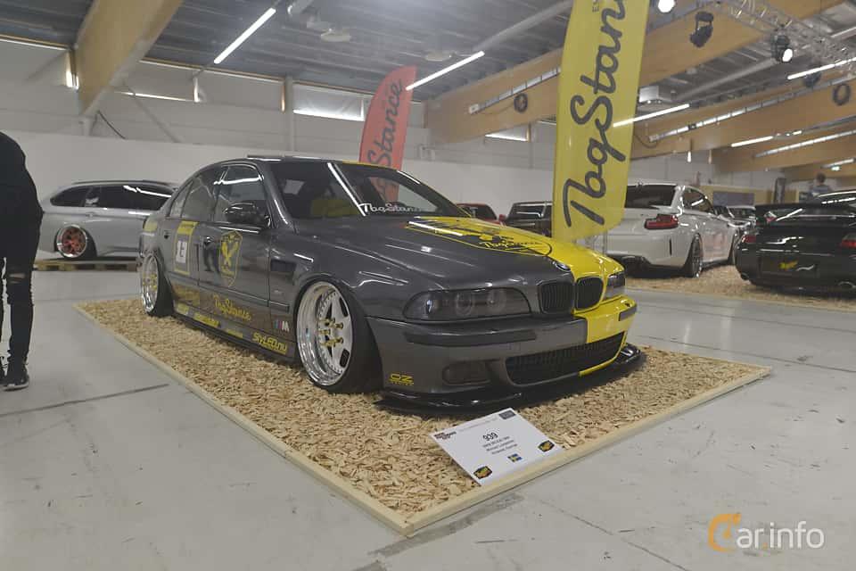 Front/Side  of BMW M5 Sedan  Manual, 400ps, 2000 at Bilsport Performance & Custom Motor Show 2019