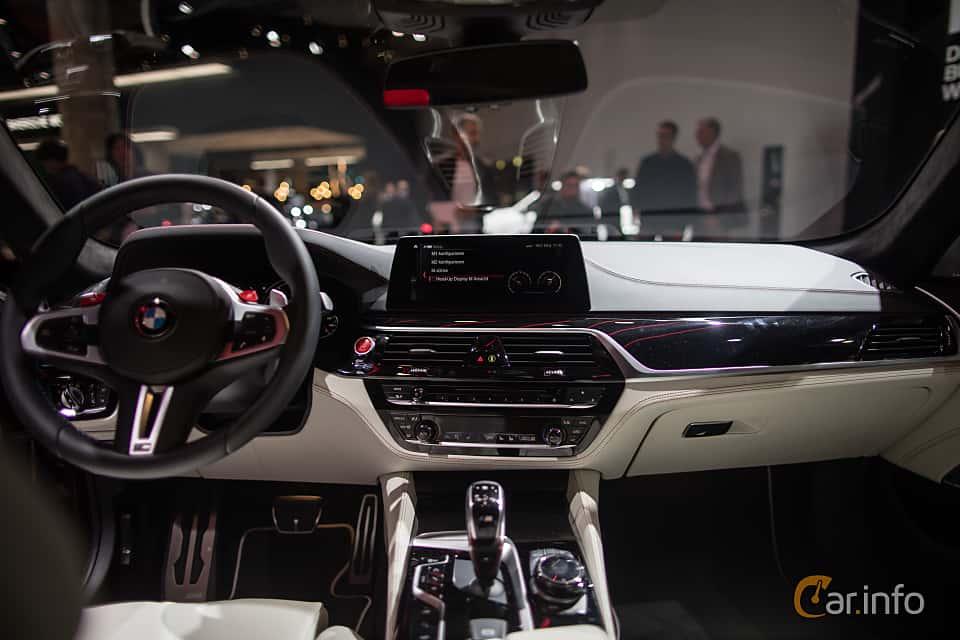 Interior Of BMW M5 44 V8 XDrive Steptronic 600ps 2018 At IAA 2017