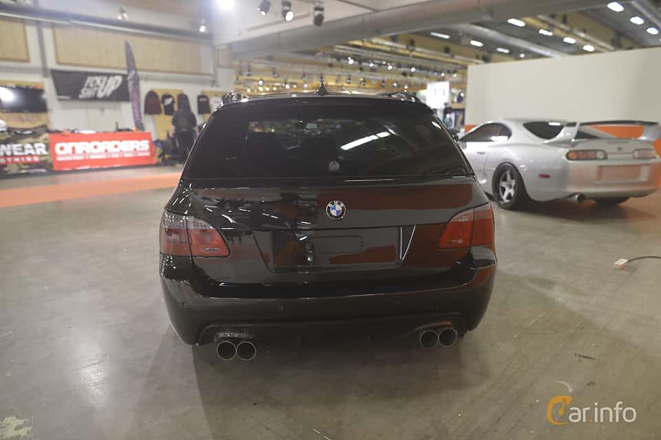 Back of BMW 5 Series Touring 2004 at Bilsport Performance & Custom Motor Show 2019