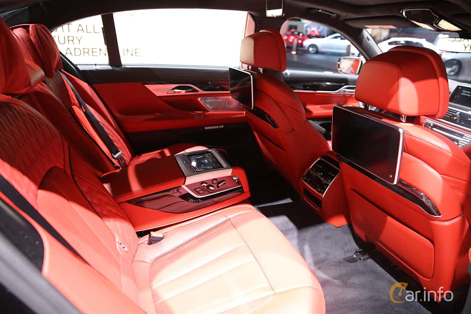 Interior Of BMW M760Li XDrive 66 V12 Steptronic 610ps 2017 At North American