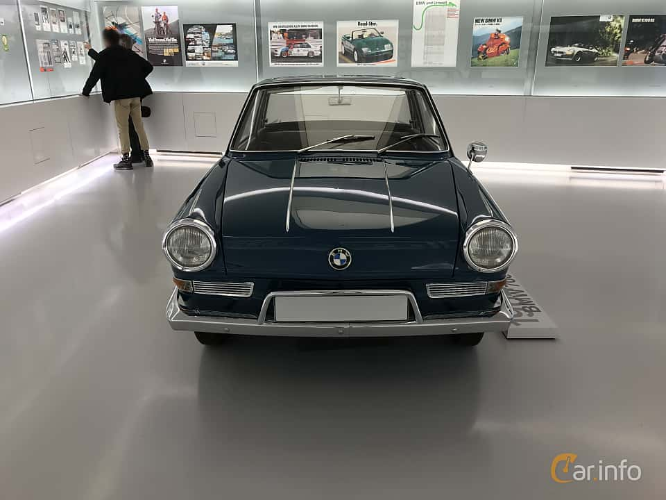Front  of BMW 700 LS Coupé 0.7 Manual, 40ps, 1964