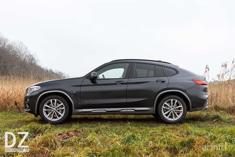 Side of BMW X4 xDrive25d Steptronic, 231ps, 2019
