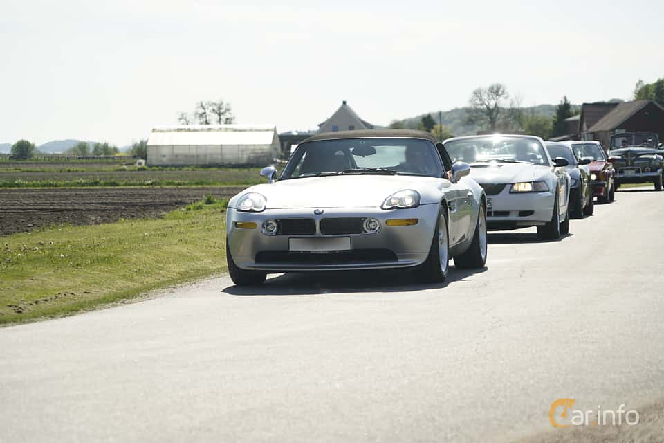 Front/Side  of BMW Z8  Manual, 400ps, 2000 at Tjolöholm Classic Motor 2017