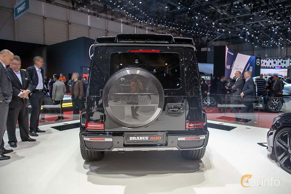 Back of Brabus G 800  AMG-SpeedShift Plus 7G-Tronic, 800ps, 2019 at Geneva Motor Show 2019