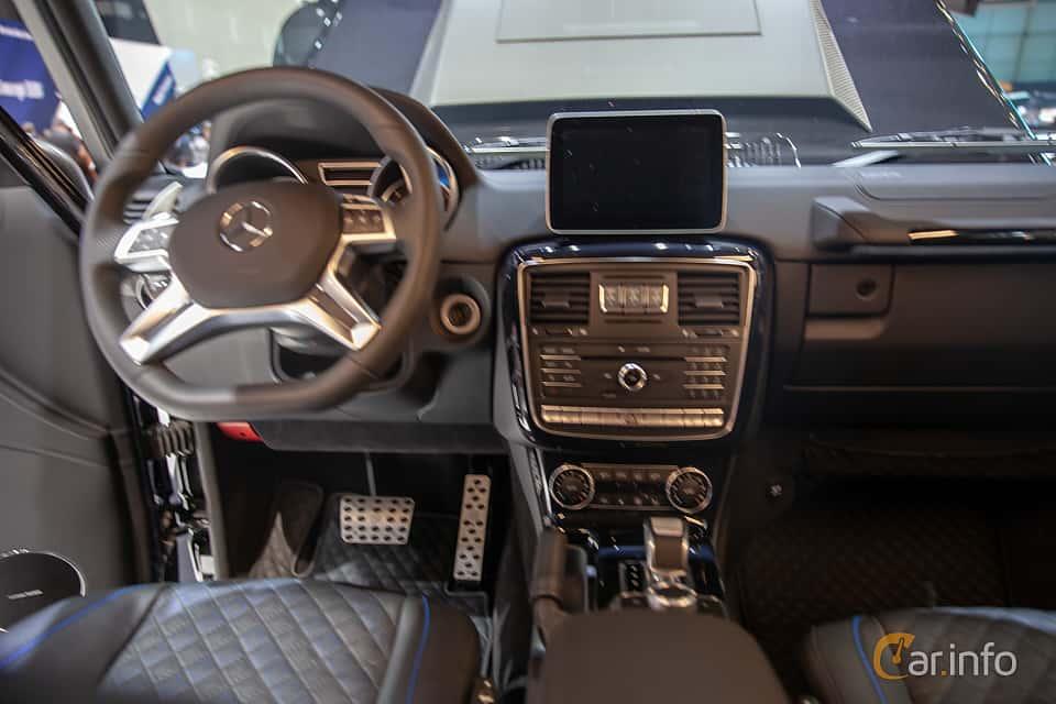 Interior of Brabus G 850  AMG-SpeedShift Plus 7G-Tronic, 850ps, 2019 at Geneva Motor Show 2019