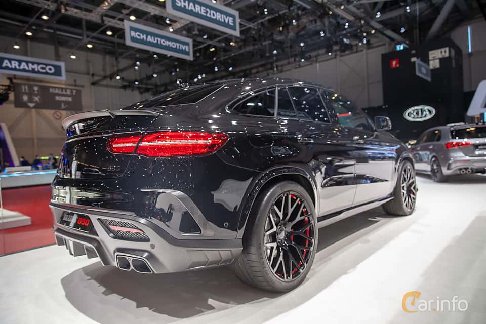 Back/Side of Brabus GLE 850 Coupé  AMG-SpeedShift Plus 7G-Tronic, 850ps, 2019 at Geneva Motor Show 2019