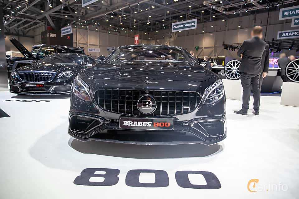 Front  of Brabus S 800 Coupé  , 800ps, 2019 at Geneva Motor Show 2019