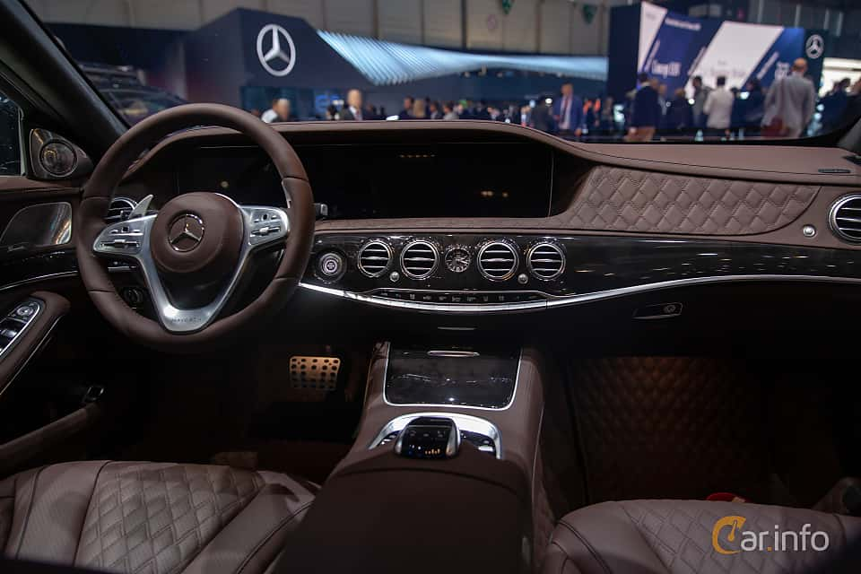 Interior of Brabus S 900 Maybach  9G-Tronic, 900ps, 2019 at Geneva Motor Show 2019