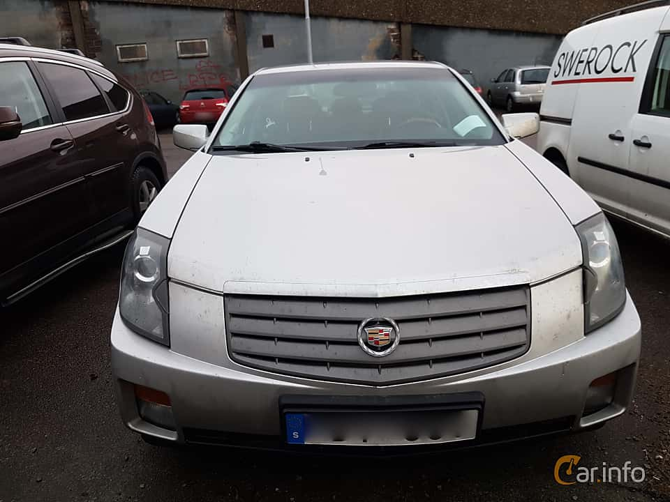 Front of Cadillac CTS 3.6 V6 Automatic, 257ps, 2005