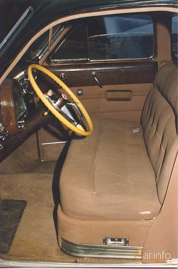Interiör av Cadillac Fleetwood Seventy-Five Sedan 5.7 V8 Hydra-Matic, 152ps, 1948