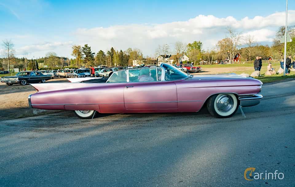 Side  of Cadillac Sixty-Two Convertible 6.4 V8 OHV Hydra-Matic, 330ps, 1960 at Wheelers Cruising, Vetlanda 2019