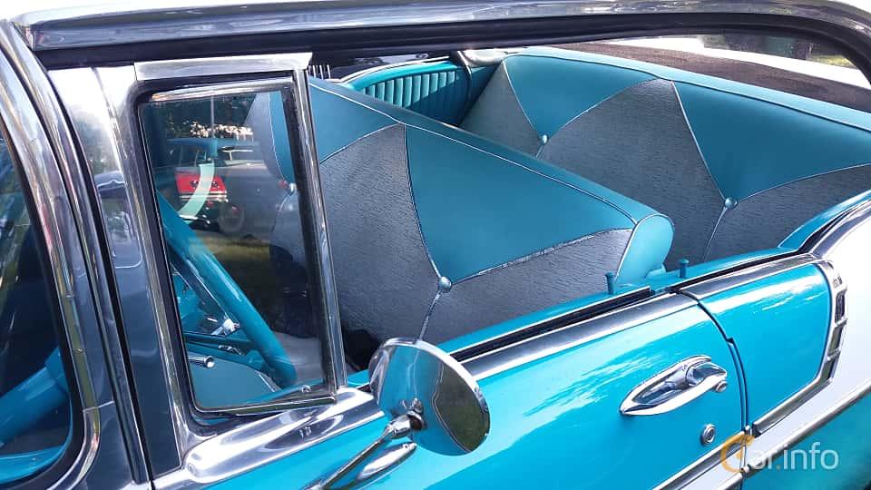 Interior of Chevrolet Bel Air Sport Sedan 4.3 V8 Manual, 165ps, 1956 at Onsdagsträffar på Gammlia Umeå 2019 vecka 28