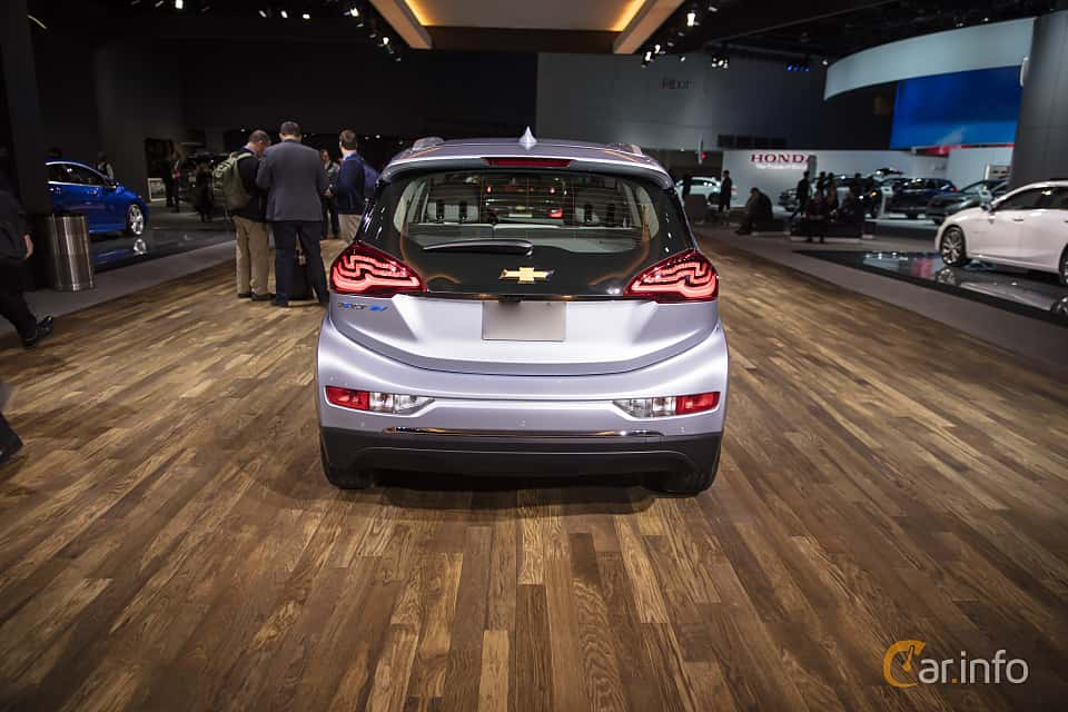 Back of Chevrolet Bolt 60 kWh Single Speed, 204ps, 2017 at North American International Auto Show 2018