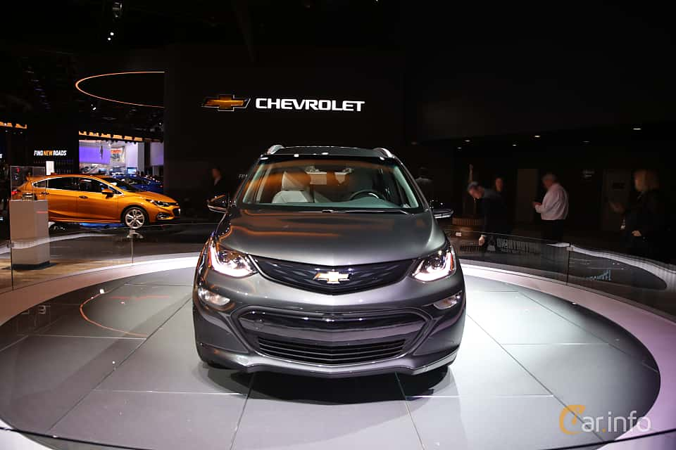 Front  of Chevrolet Bolt 60 kWh Single Speed, 204ps, 2017 at North American International Auto Show 2017