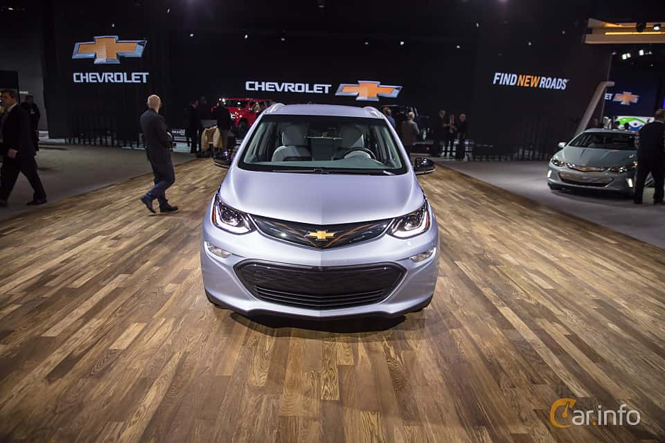 Front  of Chevrolet Bolt 60 kWh Single Speed, 204ps, 2017 at North American International Auto Show 2018