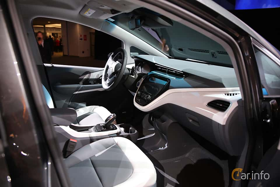 Interior of Chevrolet Bolt 60 kWh Single Speed, 204ps, 2017 at North American International Auto Show 2017