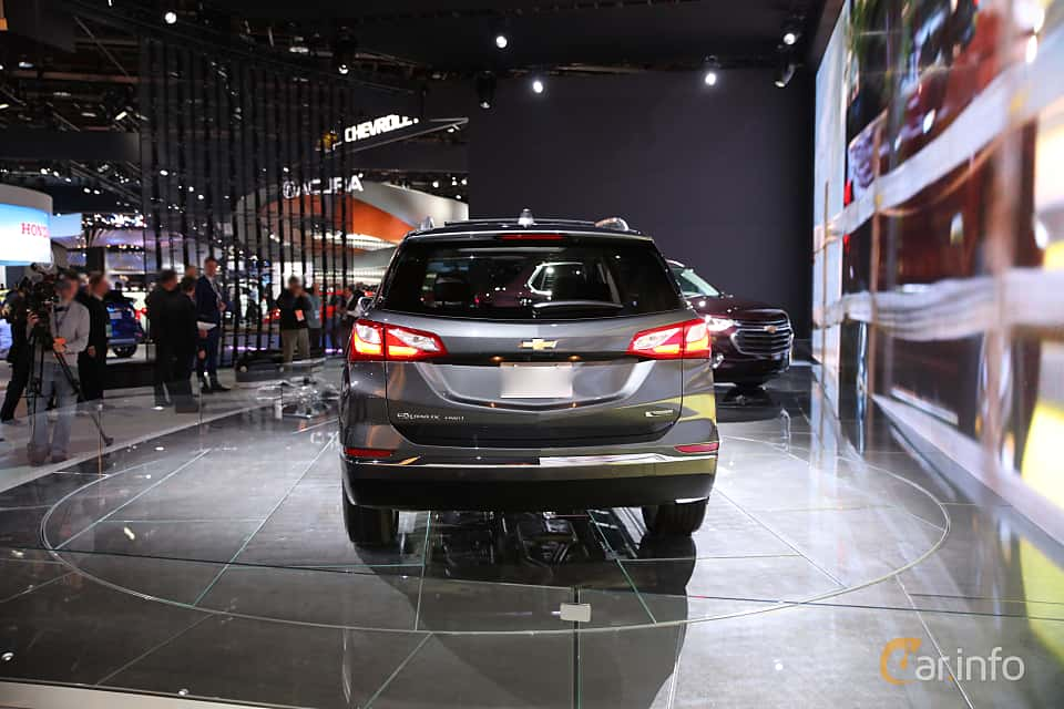 Back of Chevrolet Equinox 2018 at North American International Auto Show 2017