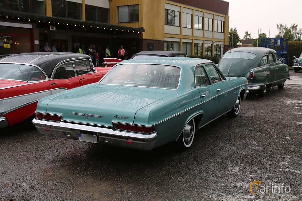 Chevrolet Impala Sedan 4 6 V8 Powerglide 198hp 1966