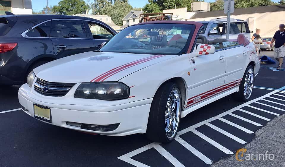 Fram/Sida av Chevrolet Impala 3.4 V6 Automatic, 182ps, 2002