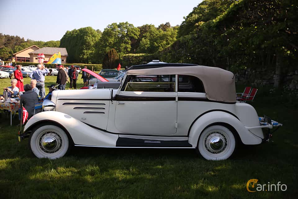 Images of a Chevrolet Master Cabriolet 3 4 Manual, 81hp, 1934
