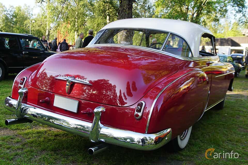 Back/Side of Chevrolet Styleline Deluxe Bel Air Coupé 3.9 Powerglide, 106ps, 1950 at Onsdagsträffar på Gammlia Umeå 2019 vecka 28