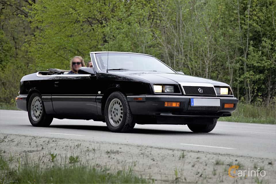 chrysler lebaron cabriolet 3 0 v6 automatisk 136hk 1990. Black Bedroom Furniture Sets. Home Design Ideas
