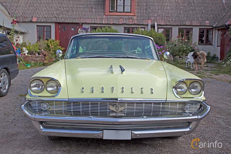 Fram av Chrysler Saratoga 2-door Hardtop 5.8 Automatic, 314ps, 1958