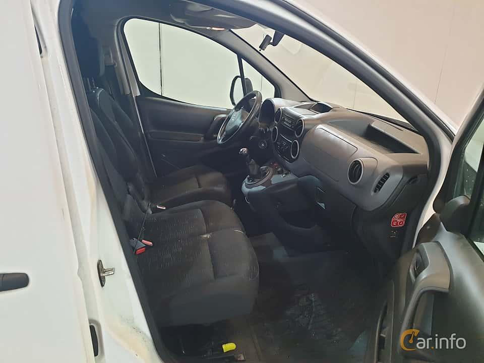 Interior of Citroën Berlingo Van 1.6 HDi Manual, 75ps, 2009