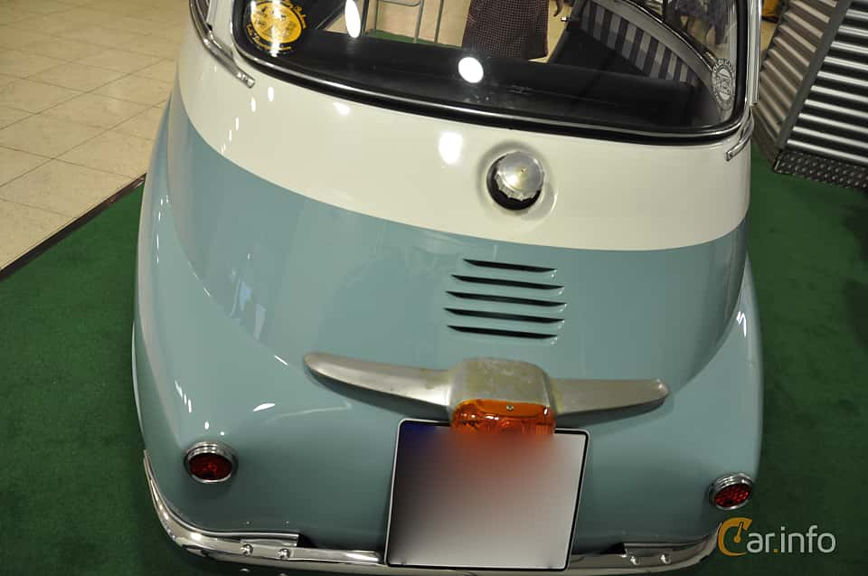 Close-up of BMW Isetta 250  Manual, 12ps, 1955 at Techno Classica Essen 2019